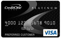 credit one big The Top 3 Unsecured Bad Credit Credit Cards For 2013
